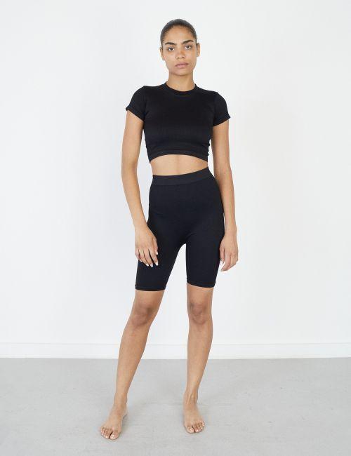 מכנסי טייץ קצרים Seamless