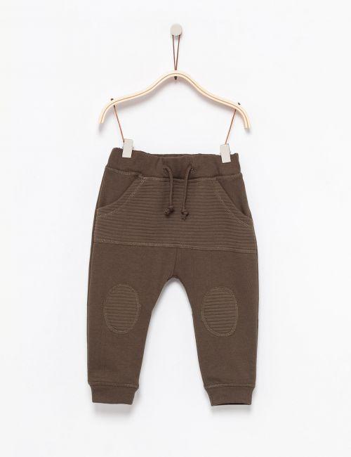 מכנסי מעבר עם כיס ריב