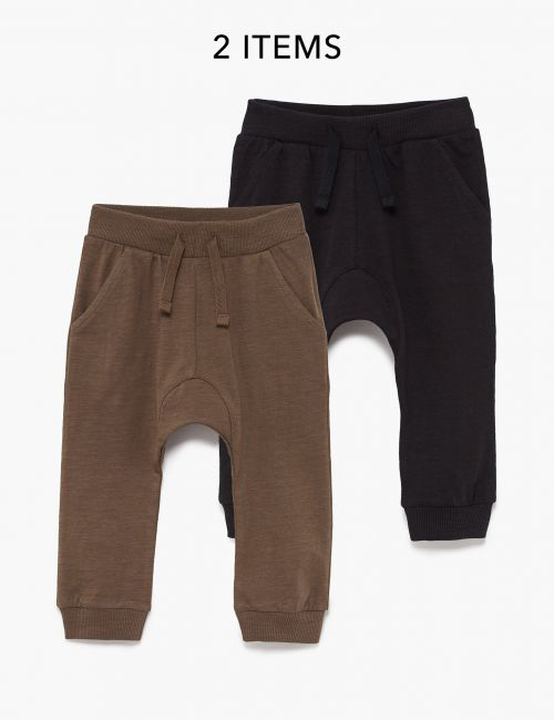 מארז 2 זוגות מכנסי מעבר דקים