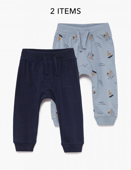 מארז 2 זוגות מכנסי מעבר מודפסים