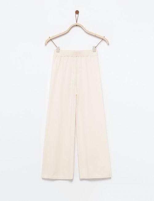 מכנסיים סרוגים רחבים