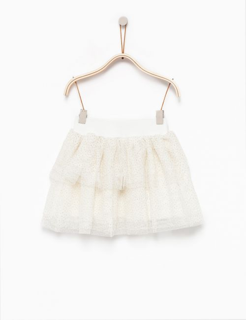 חצאית טול נצנצים