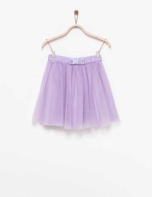 חצאית טוטו עם חגורה
