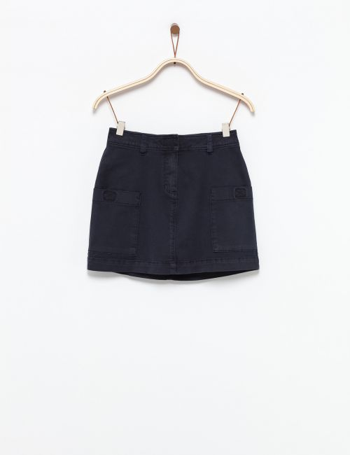 חצאית מיני עם כיסים