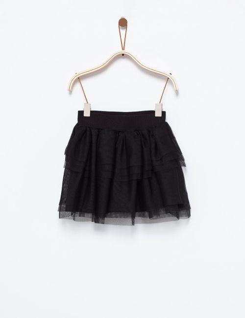 חצאית טוטו במראה שכבות