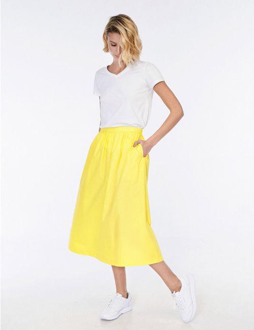 חצאית מידי עם כיסים