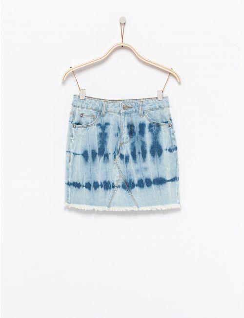 חצאית ג''ינס טאי דאיי