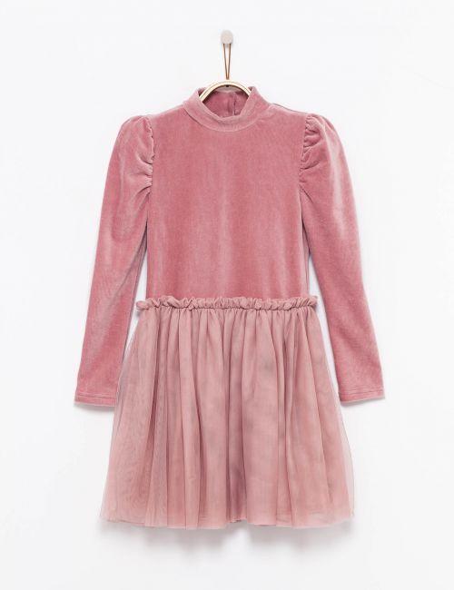 שמלת טוטו עם שרוולים תפוחים
