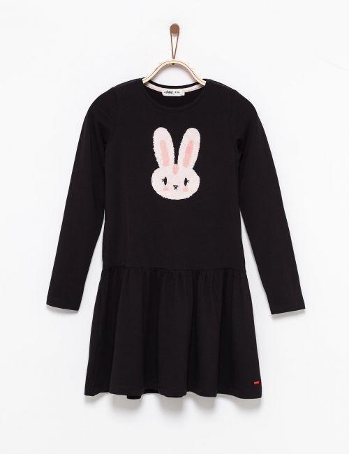 שמלה בהדפס ארנב