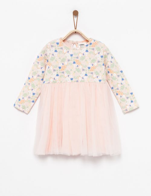 שמלת טוטו פרחונית