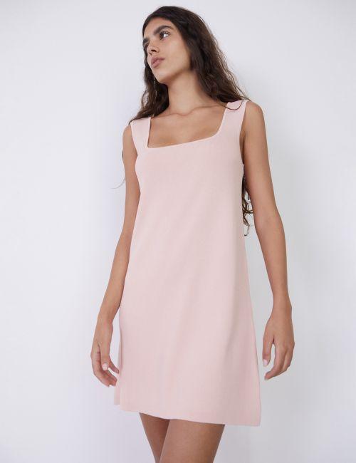 שמלת סרפן עם מפתח ריבועי