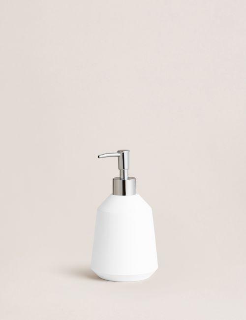 דיספנסר לבן לסבון נוזלי
