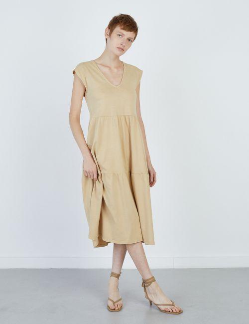 שמלת קומות ללא שרוולים