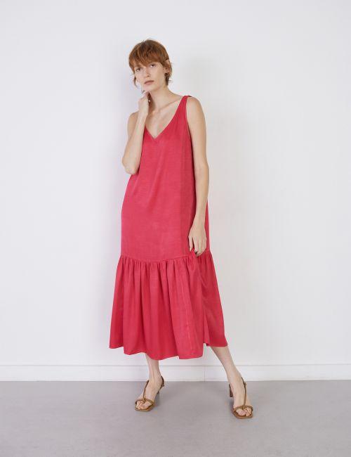 שמלת מקסי אוברסייז