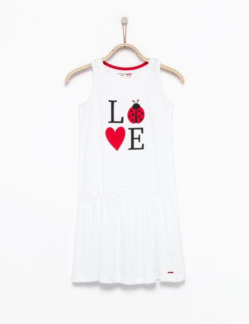 שמלה ללא שרוולים חיפושית אהבה