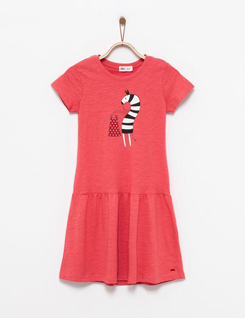שמלת טי זברה