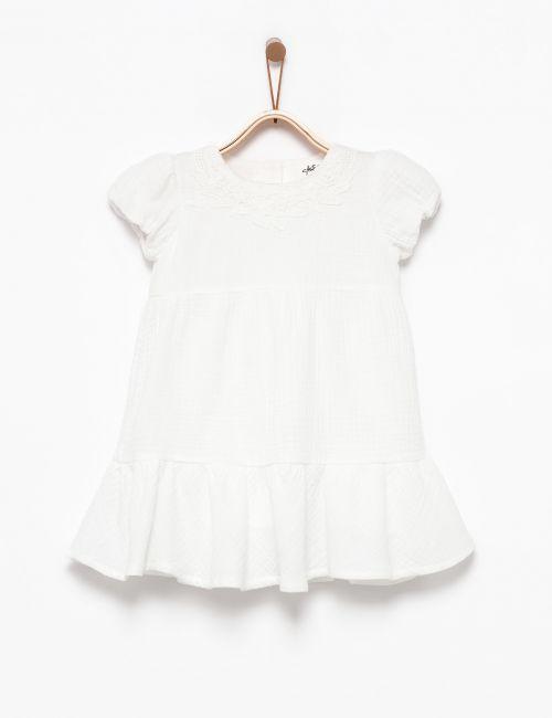 שמלת קומות עם טקסטורה