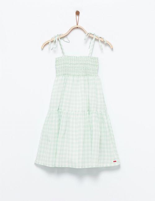 שמלת ציפקה עם כתפיות קשירה