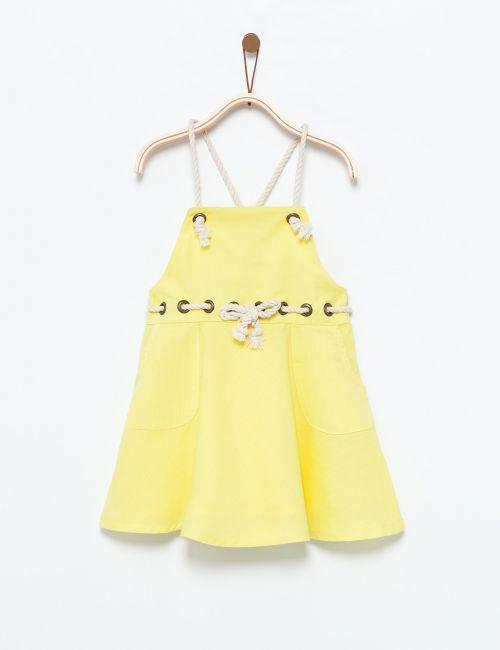 שמלה עם קשירת חבל