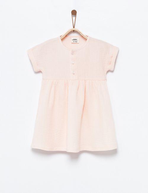שמלה עם כפתורים