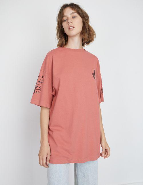חולצת טי אוברסייז ספייס ג'אם