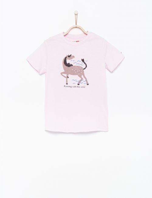חולצת טי בהדפס נמר