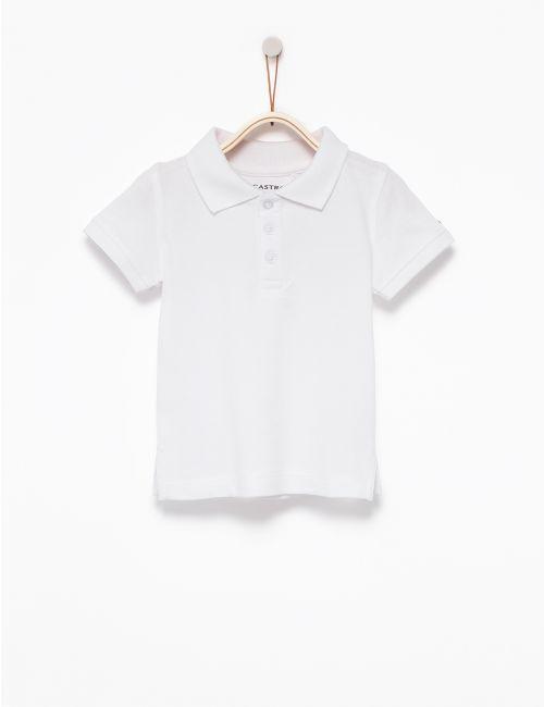 חולצת פולו חלקה