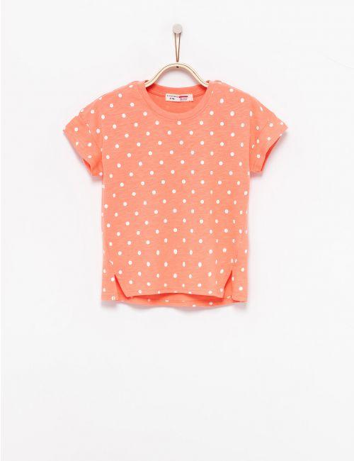 חולצת טי נקודות