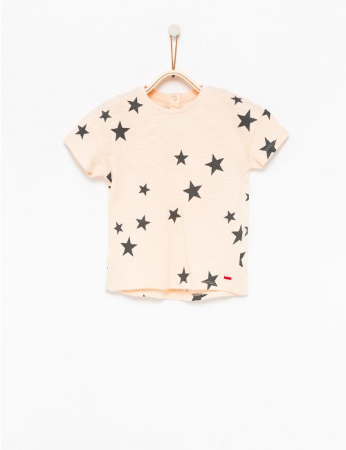 חולצת טי כוכבים מנצנצים