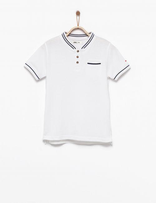 חולצת פולו צווארון סיני