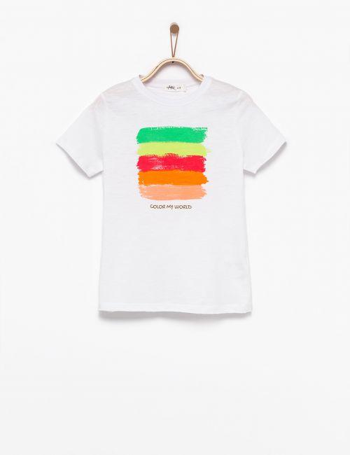 חולצת טי צבעים