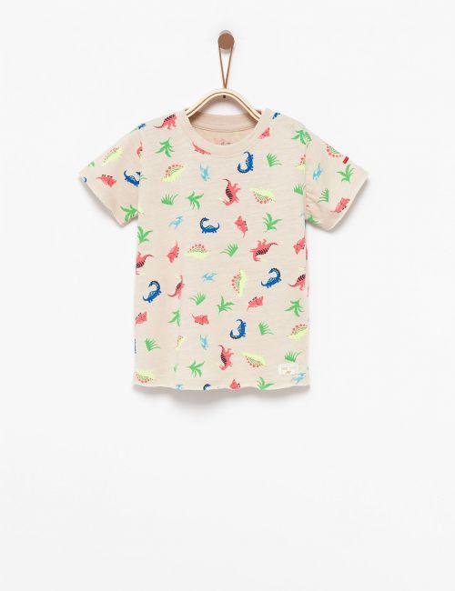 חולצת טי דינוזאורים