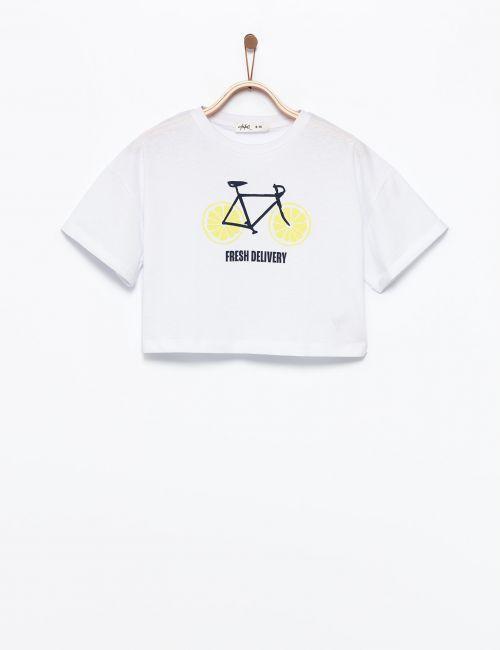 חולצת טי אופניים ולימונים