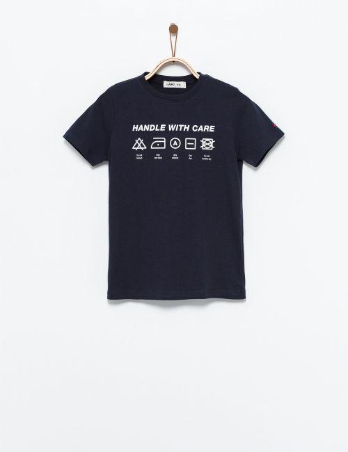 חולצת טי הוראות כביסה