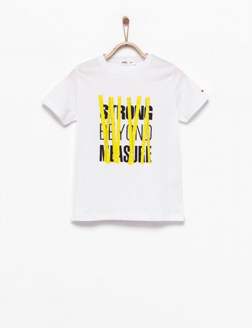 חולצת טי עם הדפס