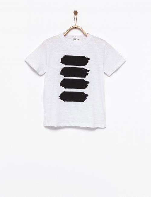 חולצת טי פסי צבע