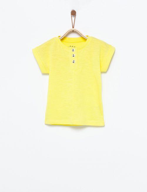 חולצת טי כפתורי עוגן