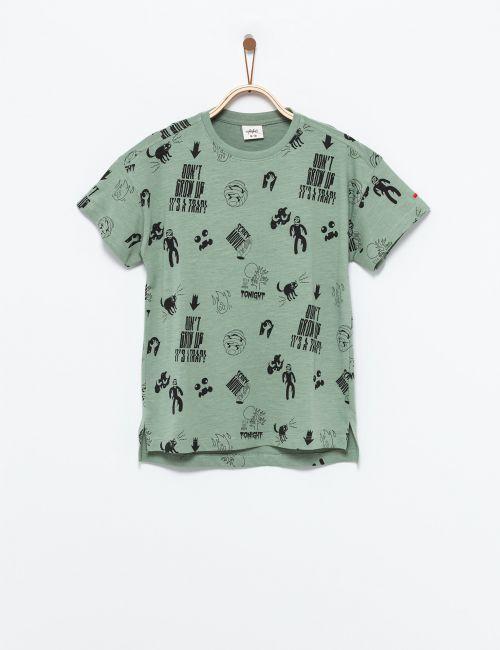 חולצת טי אייקונים