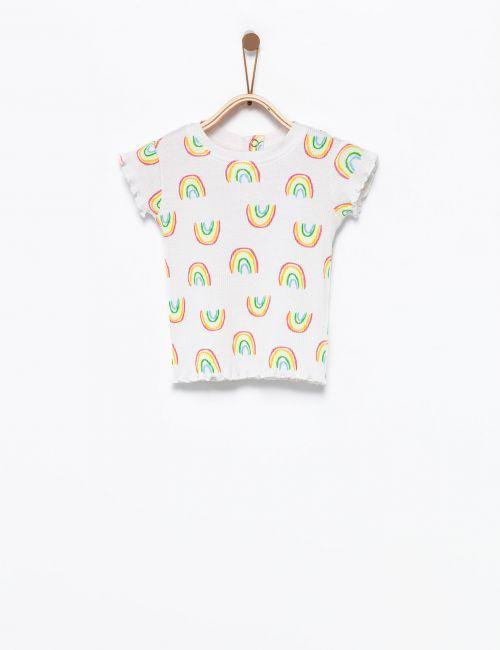 חולצת טי ריב קשתות