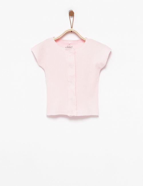חולצת ריב עם כפתורים