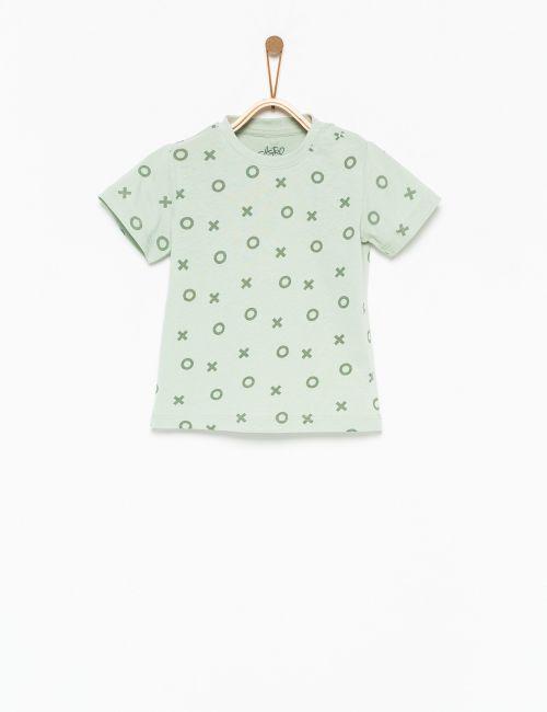 חולצת טי איקס עיגול