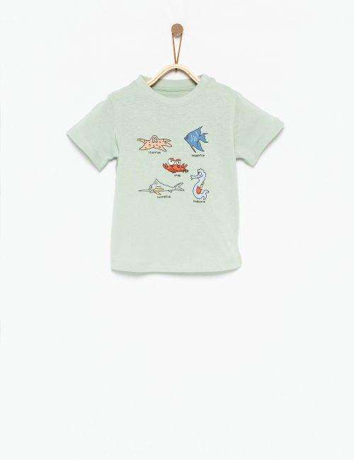 חולצת טי חיות מים