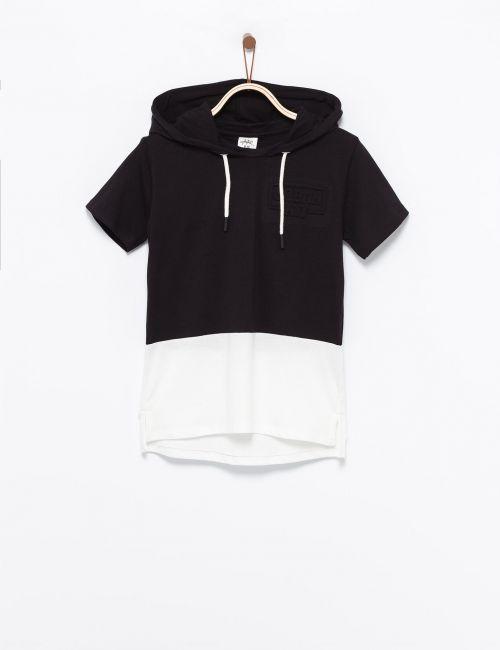 חולצת טי במראה 2 שכבות