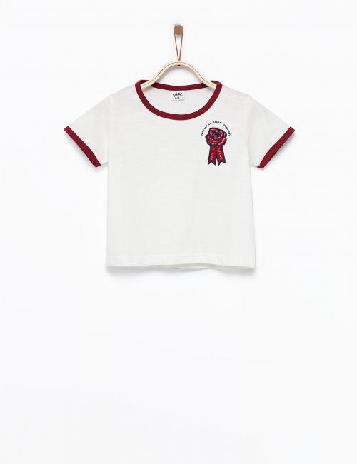 חולצת טי הדפס זכייה