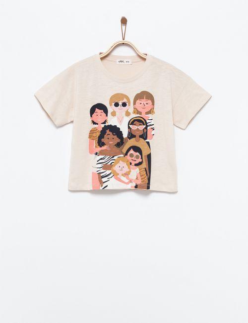 חולצת טי קבוצת בנות