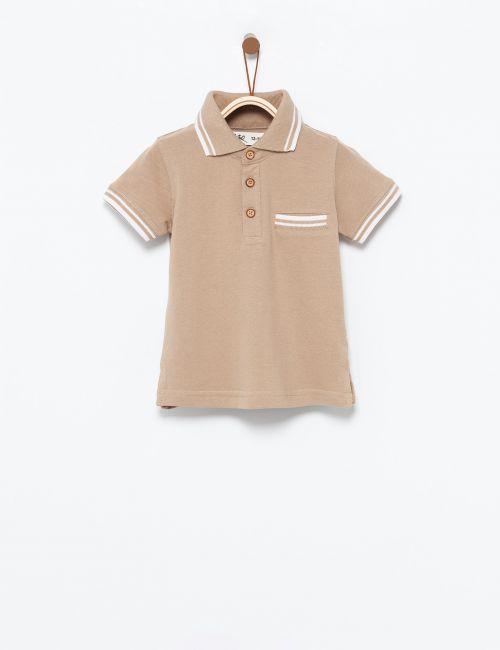 חולצת פולו מלאנז'