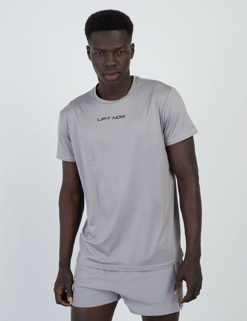 חולצת טי Dry Fit עם כיתוב