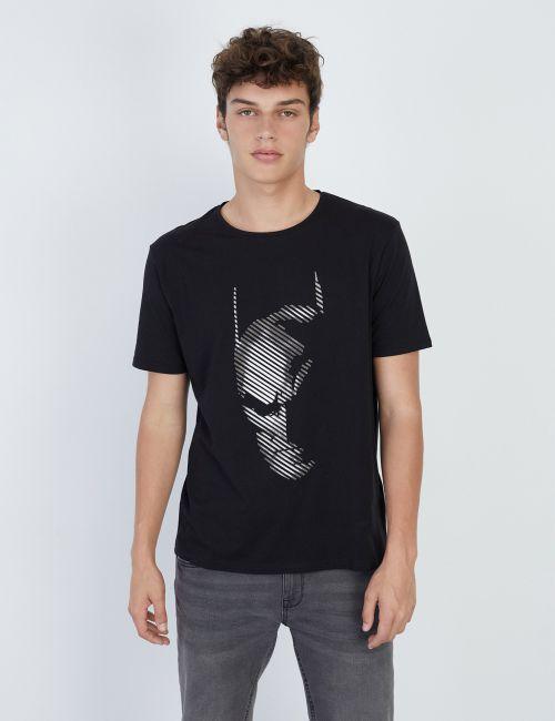 חולצת טי בהדפס באטמן