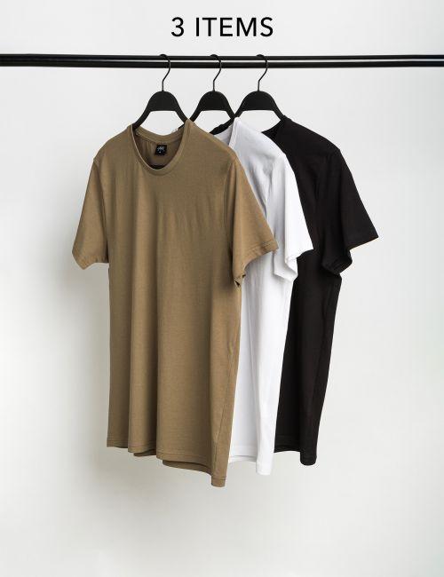 מארז 3 חולצות טי צווארון ניקי