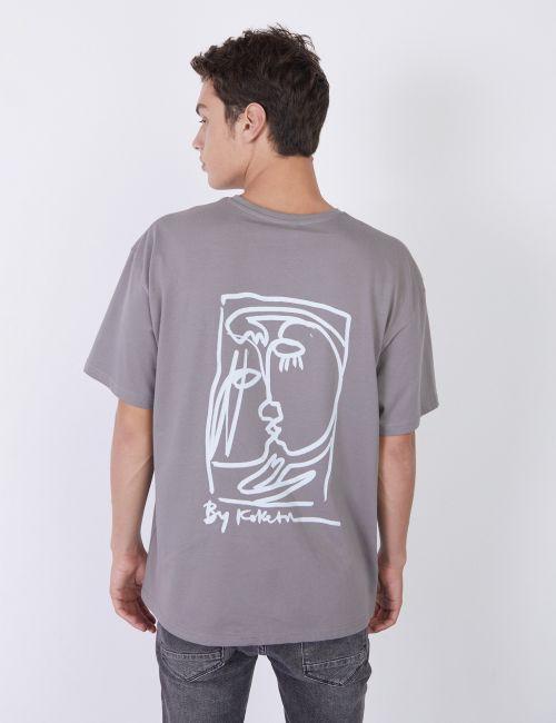 חולצת טי אוברסייז יוניסקס / Koketit